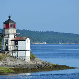 Squirrel Point Light by Carla Parris