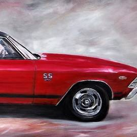 SS Chevelle '69 by Jacqueline Whitcomb