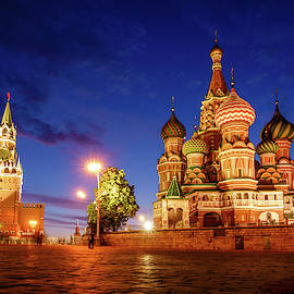 St. Basil Cathedral in Moscow by Alexey Stiop