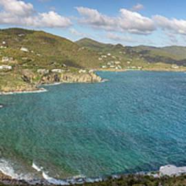 St. John Rendezvous Bay Panoramic by Adam Romanowicz