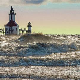 St Joseph Lighthouse Painterly by Jennifer White