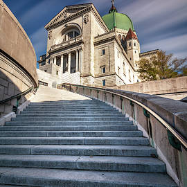 St Joseph Oratory Stairway Montreal by Pierre Leclerc Photography