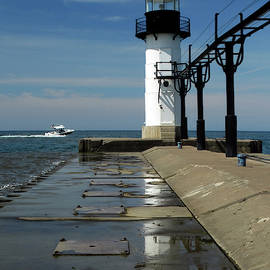 St Joseph Outer Light Reflection by David T Wilkinson