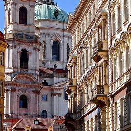 St. Nicholas of Prague by Ira Shander