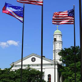 St Vincent De Paul Catholic Church Baltimore by James Brunker