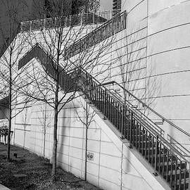Stairs Up The Side by Laura Hedien