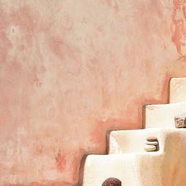 Stairway in Santorini by PrintsProject