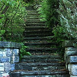 Stairway to . . . Pop Art by Maria Keady