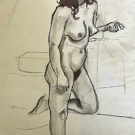 Standing Nude by Mark Millicent