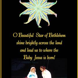 Star of Bethlehem - Holy Family by Marian Bell