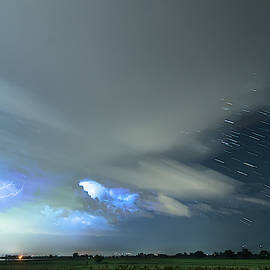 Star Trails Storming by James BO Insogna