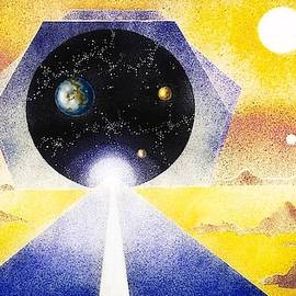 Stargate  Blue by Hartmut Jager