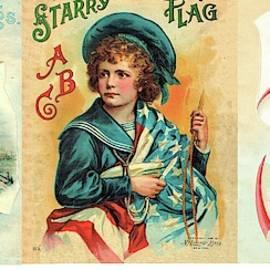 Starry Flagg Wrap A Round 4 by Reynold Jay