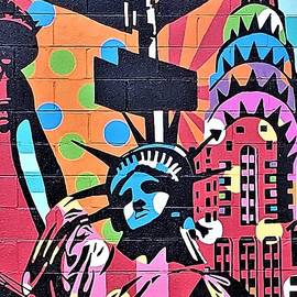 Statue Of Liberty Mural by Rob Hans