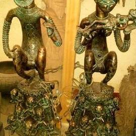 Statuettes Makamba by Bakongo collection