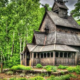 Stavkirke Church by Deborah Klubertanz