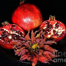 Still life with pomegranates #1. by Alexander Vinogradov