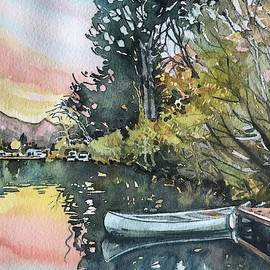 Still Sunset at theLlake by Luisa Millicent
