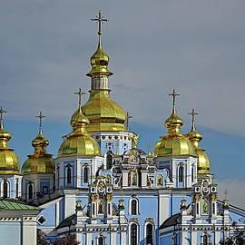 St.Michaels' Golden-Dome Cathedral, Kiev by Lyuba Filatova