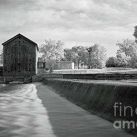 Stockdale Mill, Roann, Indiana Infra Red by Steve Gass