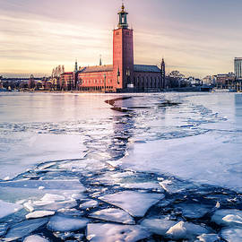 Stockholm City Hall in Winter by Nicklas Gustafsson