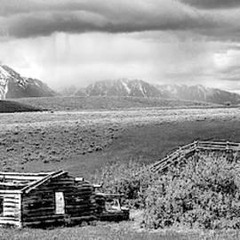 A Teton Storm by Randall Dill
