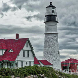 Stormy Clouds at Portland Head by Amy Dundon