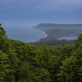 Stormy Day On Sleeping Bear Dunes by Dan Sproul