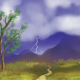 Stormy Path by Chance Kafka