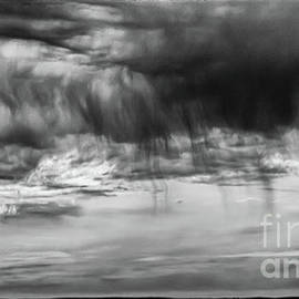 Stormy Sky In Black And White by Lyl Dil Creations