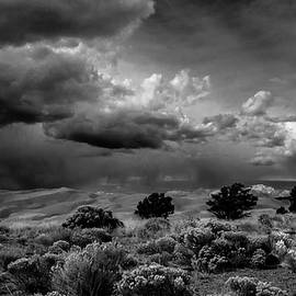 S Katz - Stormy Sky Over the Desert