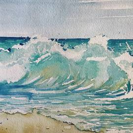 Stormy Surf by Luisa Millicent