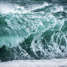 Stormy Wave by Svetlana Sewell
