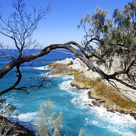 Stradbroke Island Seascape #2 by Trudee Hunter