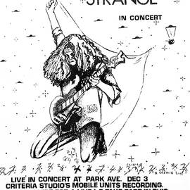 Strange Poster 1981 In B/w By Terry R. Brooks by Ben Upham