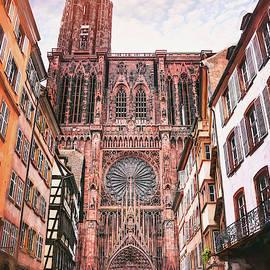 Strasbourg Cathedral France  by Carol Japp