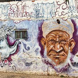 Street Art - Moroccan Man