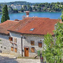 Streets of Old Rovinj by Norman Gabitzsch