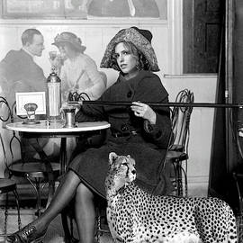 Strike a Pose, Vintage cafe scene, Coca Cola, circa 1926, Vogue by Thomas Pollart
