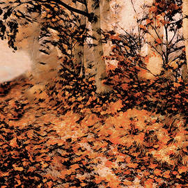 Stroll On A Fall Day by Susan Maxwell Schmidt