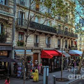 Strolling In Paris by Luther Fine Art
