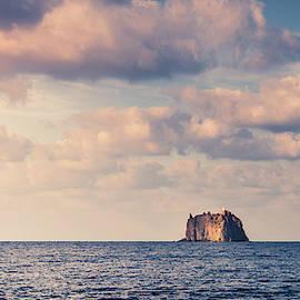 Strombolicchio Lighthouse Island by Alexey Stiop