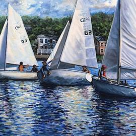 Student Sailors by Eileen Patten Oliver