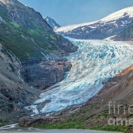 Stunning Bear Glacier by Robert Bales