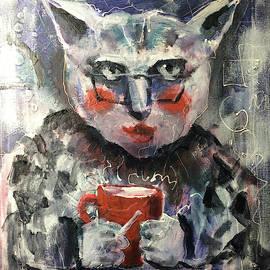 Sturbucks Cat by Maxim Komissarchik