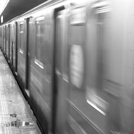Greg Hayhoe - Subway Blur NYC