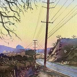 Sugerloaf Sunset Mulholland by Luisa Millicent