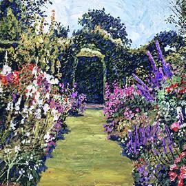 Summer Days In The Garden by David Lloyd Glover