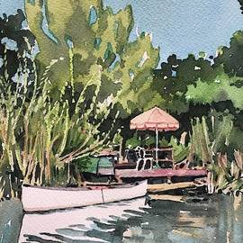 Summer down the creek by Luisa Millicent