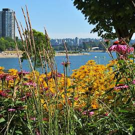Summer Flowers Vancouver 2 by Joan Stratton
